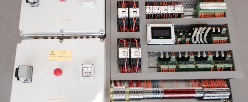 Schemi Elettrici Quadri Ascensori : Quadri elettrici per scale mobili liftech srl